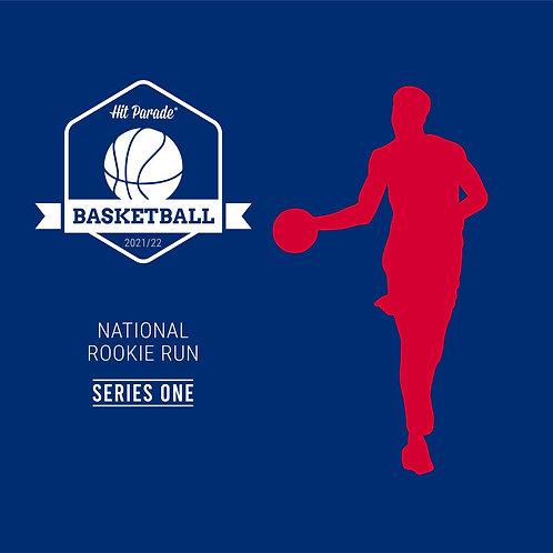 National Rookie Run Graded Basketball Edition Hobby Box