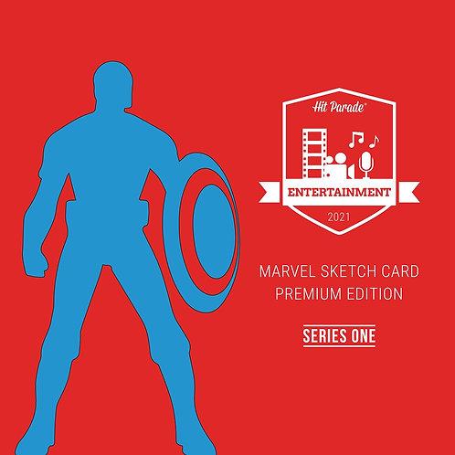 Marvel Sketch Card Premium Edition Hobby Box