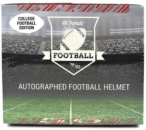 Autographed FS College Football Helmet Hobby Box