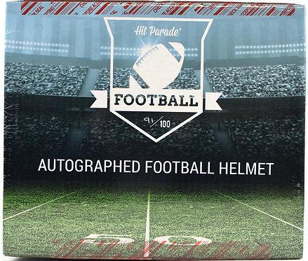 Autographed Full Size Football Helmet Hobby Box