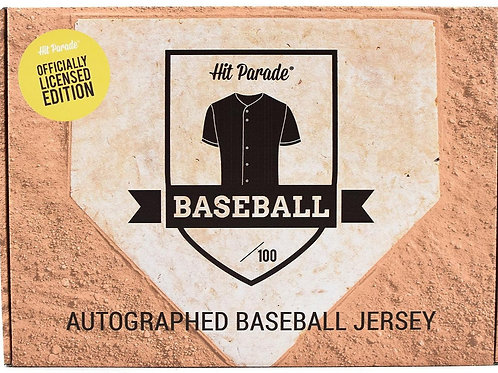 Autographed Officially Licensed Baseball Jersey Hobby Box