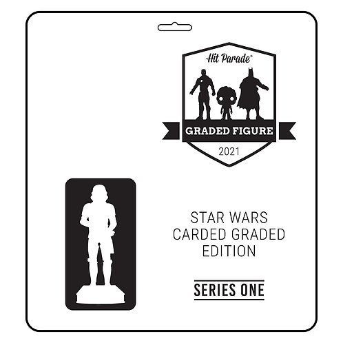 Star Wars Carded Graded Figure Edition Hobby Box