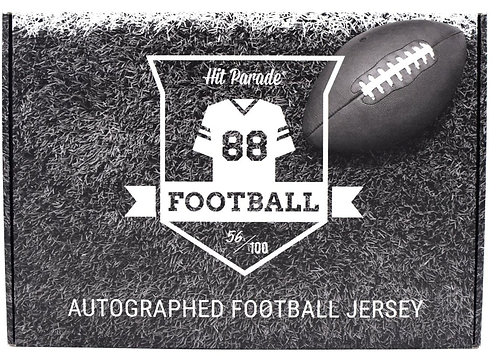 Autographed Football Jersey Hobby Box