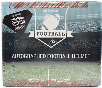Autographed FS Football Helmet 1st Round Edition Hobby Box