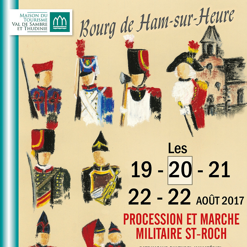 379ème Marche Saint-Roch de Ham-sur-Heure