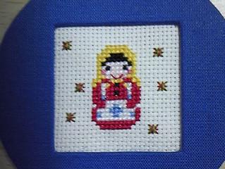 ラピンタイカさんの手芸教室第2弾! 「ゴーフル缶のふたにかわいい刺繍をしよう♪」