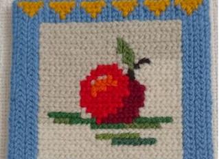 ★ラピンタイカさんの手作りワークショップ第13弾「ツヴィスト刺繍でかわいい壁掛けを作りましょう♪」