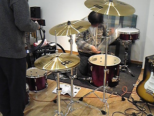 生ドラム導入