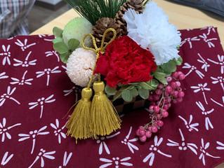 本多倫子さんのお正月飾りワークショップが開催されました(2020.12.26)