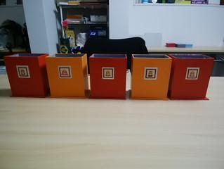 ラピンタイカさんの手芸教室第9弾「刺繍と紙のカルトナージュでステキなポストカード入れを作りましょう♪」