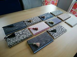 石田のぶえさんの手芸教室第6弾 カルトナージュで「袱紗(ふくさ)」を作りましょう♪