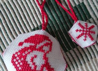 ラピンタイカさんの 手作りワークショップ第14弾「クリスマスのオーナメントを作りましょう♪」
