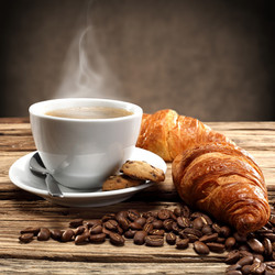 Breakfast-coffee-with-bread