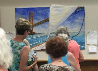 Finished  Sailing Under the Golden Gate