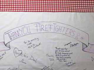 Thank You Firefighters & *