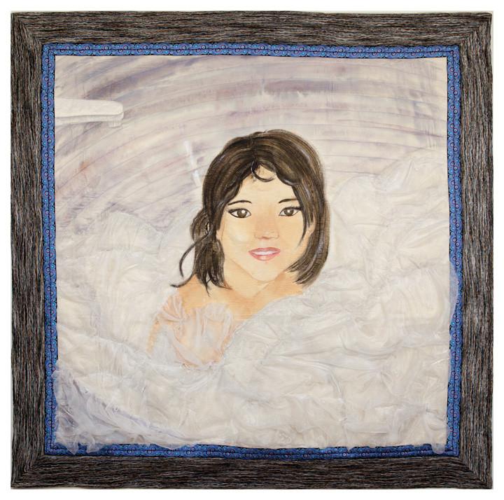 Art Quilt Bubble Bath