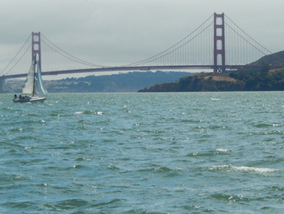 Started Sailing Under the Golden Gate