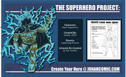 Lightning Superhero