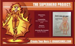Fire Superhero
