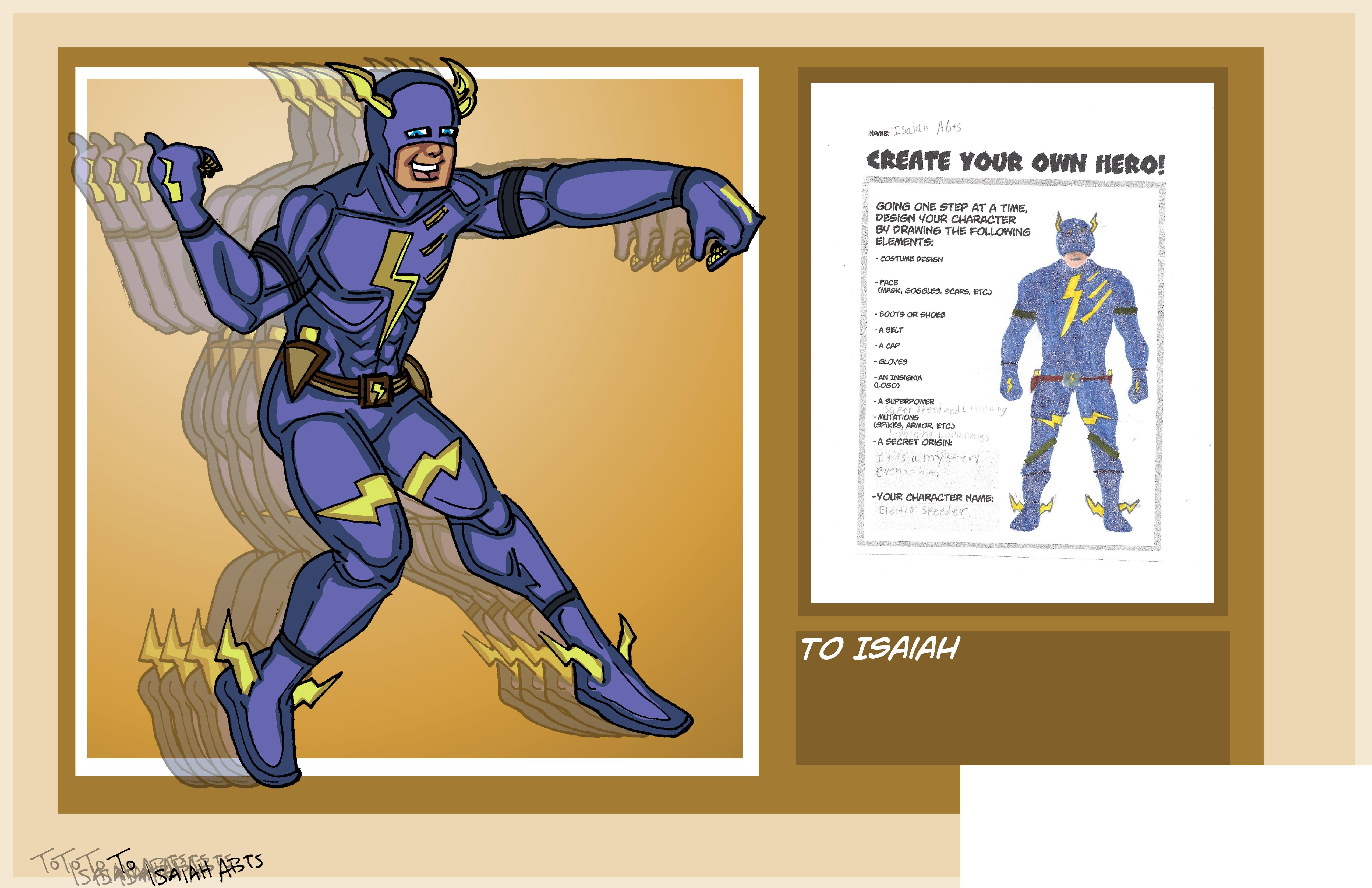 Isaiah's Superhero