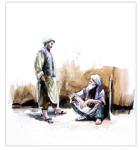 Afghanistan, Les Hirondelles de Kaboul, Atiq et Nazish