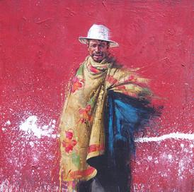 MADAGASCAR, Homme fleuri I