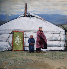 MONGOLIE, Le noeud du bonheur
