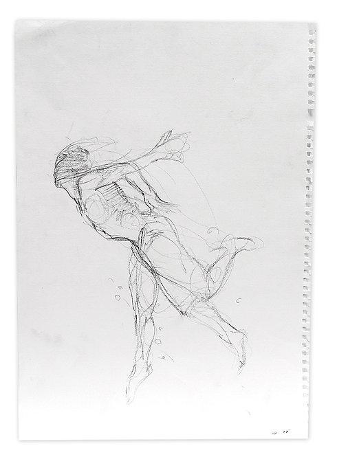 Zingaro, Acrobate (30 x 42 cm)