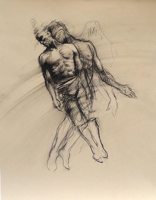 Zingaro, Le pendule - acrobate (56 x 44 cm)