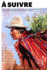 Magazine National Geographic Traveler janv-mars 2019 Emmanuel Michel livre Pérou peintures sculptures dessins carnets de voyage