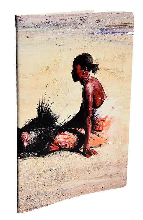 Carnet balade - Jeune fille de Madagascar