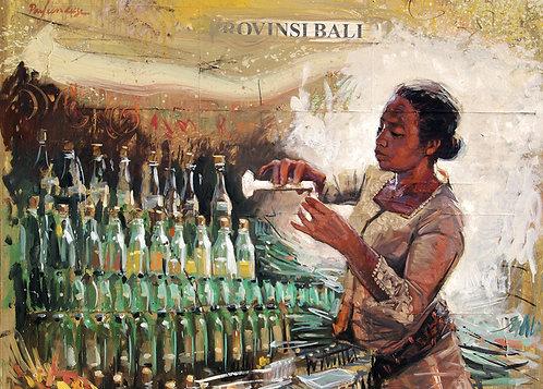 Indonésie, La parfumeuse 10x15 cm
