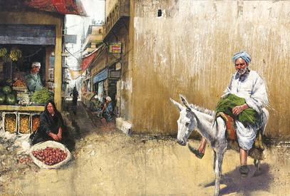 EGYPTE, Marché à Karnak