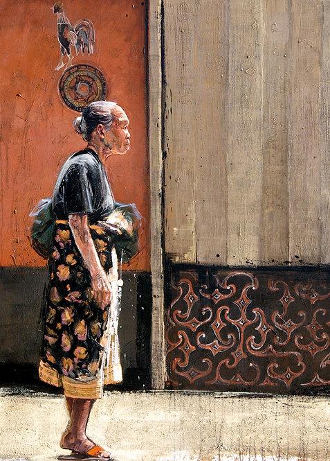 Indonésie, Femme Toraja 10x15 cm
