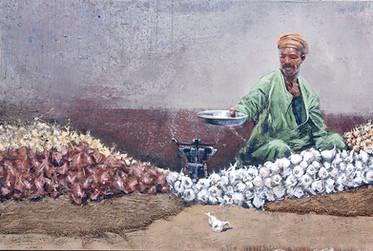 EGYPTE, Marchand d'oignons