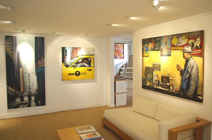 Galerie le soleil sur la place Lyon 1997