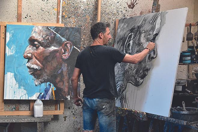 Emmanuel Michel peinture Sri Lanka