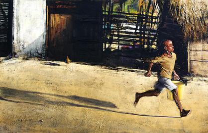 TANZANIE, Soleil couchant
