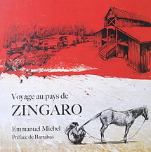 Emmanuel Michel peintre sculpteur livre Zingaro