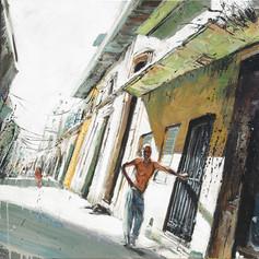 CUBA, Balcon amande