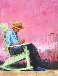 CUBA, Rocking chair