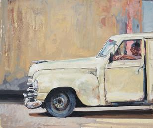 CUBA, Coche blanco