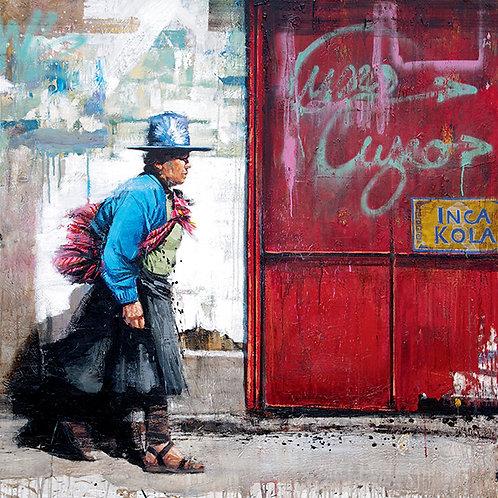 Pérou, Inca Cola 15x15 cm