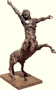 Centaure dressé