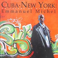 Emmanuel Michel peintre sculpteur livre Cuba New York