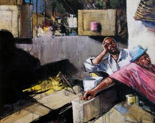 TANZANIE, Sieste au marché