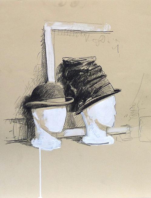 Zingaro, Chapeaux (56 x 44 cm)