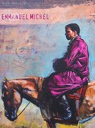 Emmanuel Michel peintre sculpteur livre Tanzanie, Tunisie, Mongolie