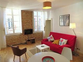 Gîte appartement toulousain du peintre Emmanuel Michel