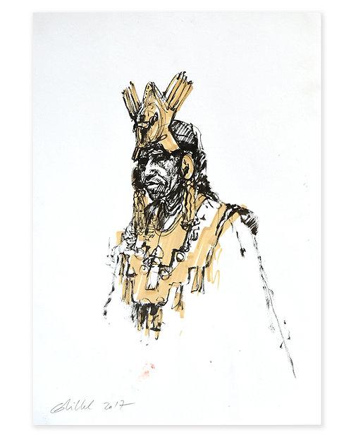 Pérou, Parures du seigneur de Sipan (42 x 29 cm)